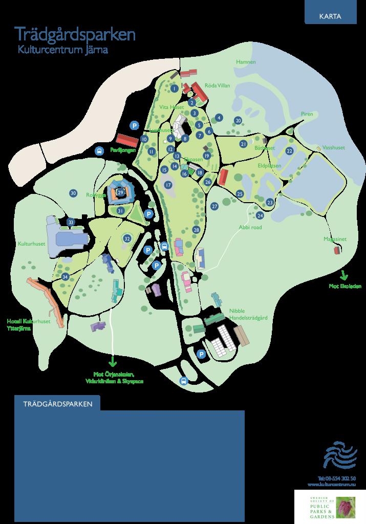 Map Kulturcentrum
